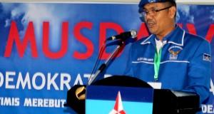 Ternyata Alaidin Abu Abbas Ketua Pelaksana Musda IV Partai Demokrat Aceh