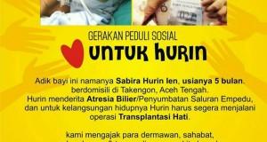 Hurin Butuh Dana Berobat Rp1,5 M; Yuk Bantu Dia