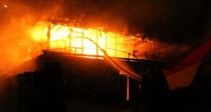 Api Hanguskan Ruangan Aset Sekdakab Agara