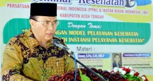 Aceh Tengah Komit Pelayanan Kesehatan Islami