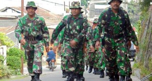 Personel TNI Kodim 0106/AT-BM Gelar Latihan Ketahanan Mars