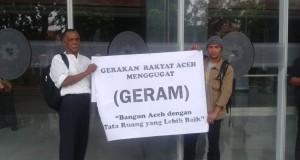 Sidang Gugatan GeRAM di PN Jakpus, Saksi Fakta : Qanu  RTRQ Aceh Bertentangan dengan UUPA