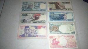 Mata uang rupiah koleksi Yuliani Fitri (Foto: Ist)