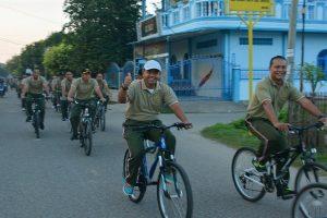 Korem 011 Lilawangsa Bersepeda