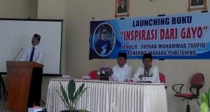 "Syair Didong Iringi Launching Buku ""Inspirasi dari Gayo"""