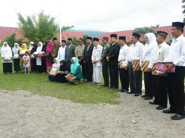 Penerima Penghargaan HAB 70 Kemenag Aceh Tengah