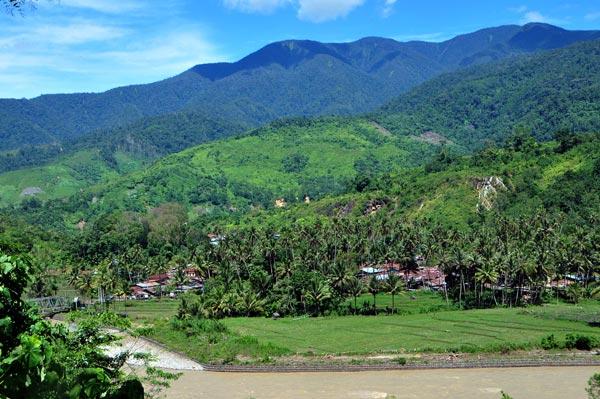 Kampung Rerebe Kecamatan Tripe Jaya Gayo Lues. (LGco_Khalis)