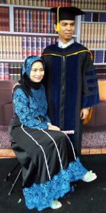 DR. Ridwan Iriadi bersama istri