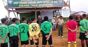 Danramil 08/Atu Lintang Cup Resmi Bergulir, 32 Tim Ikut Serta!