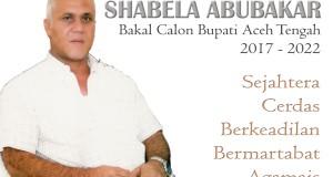 Shabela Abubakar ; Bakal Calon Bupati Aceh Tengah 2017-2022