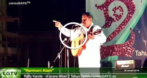 "[Video] ""Harmoni Alam"" – Rafly Kande"