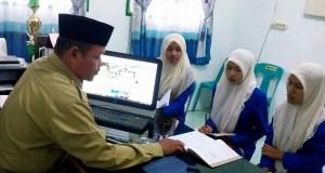 Mahasiswa STAIN Malikussaleh OJT di KUA Nisam