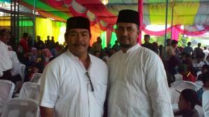 Pasangan balon Bupati dan Wakil Bupati Bener Meriah, Marianto dan Mohd. Amin