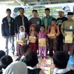 Hasil Pelelangan Buku 6,2 SR Sudah di Salurkan ke Anak Korban Gempa Gayo