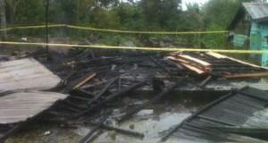 2 Unit Rumah Hangus Terbakar di Simpang Juli Ketol