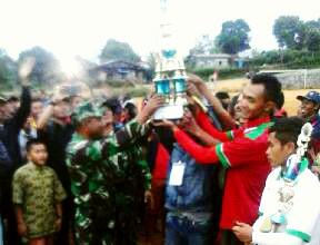 Rem Blong FC Jawara Danramil/08 Atu Lintang Cup