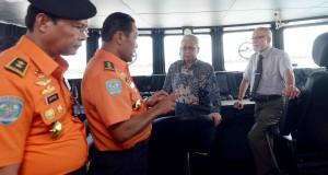 KN Kresna Perkuat Armada SAR Banda Aceh