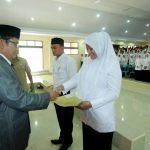 403 Honorer Aceh Tengah Dilantik Jadi PNS