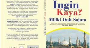 Buku Ingin Kaya? Miliki Duit Sajuta karya putra Gayo Ibrahim Tawarys Terbit