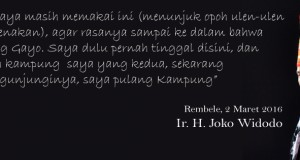 Ini Dia Si Pencetus Tema Jokowi Pulang Kampung