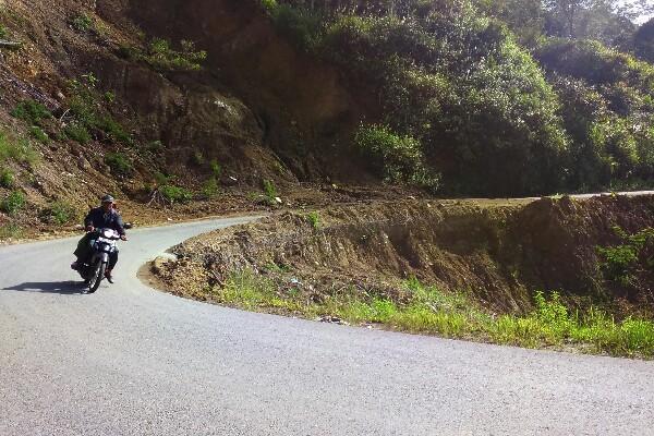 Jalan Takengon Jagong Via Atu Lintang
