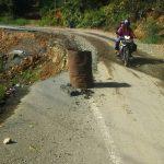 [Foto] Jalan Rusak Lintas Takengon-Jagong Via Atu Lintang