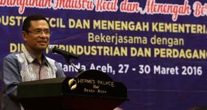 Menteri Perindustrian : Aceh Harus Kembangkan Industri Khas Daerah