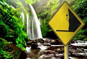 ilustrasi rawan longsor di objek wisata.(surabayanews.co.id)