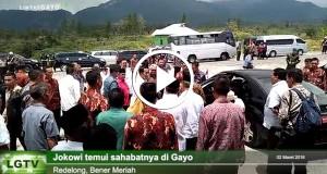 [Video] Temu Kangen Sahabat Jokowi di Gayo