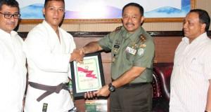 Prajurit Kodam IM Rebut Perunggu di Internasional Judo Bali Open Championship