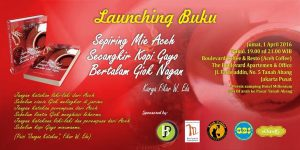 "Buku Kumpulan Puisi ""Sepiring Mie Aceh"" Fikar W Eda Launching"