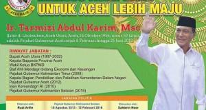[Bakal Calon Gubernur Aceh] Tarmizi A Karim