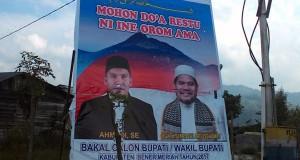 Poster Balonbup Bener Meriah Ahmadi-Abuya Dirusak
