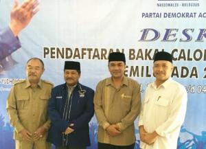 Balonbup Penjaringan Partai Demokrat Aceh Tengah