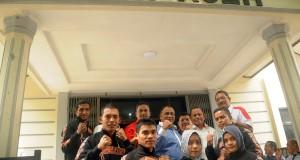 KONI Aceh Lepas Atlet dan Pelatih Menuju Kejuaraan Tarung Derajat ASEAN II di Kuala Lumpur