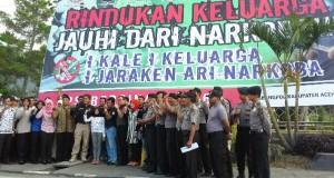 Kapolres : Naura Dinobatkan Jadi Duta Anti Narkoba Aceh Tengah