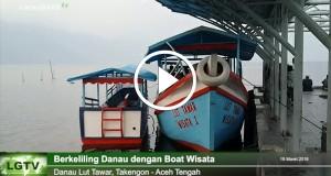 [Video] Berkeliling Danau Lut Tawar Dengan Boat Wisata