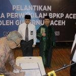 Kepala Perwakilan BKPP Aceh Dilantik