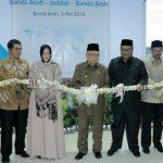 Penerbangan Umrah Aceh-Jeddah Diresmikan
