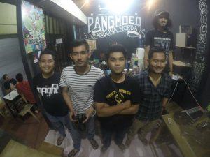 Putra asal Aceh pemilik usaha Warkop Pangmoed di Medan (Ist)