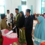 H. Juwari As'ad dan Tgk. Abadi Juara MTQ Reje dan Imem Kampung se-Kecamatan Jagong