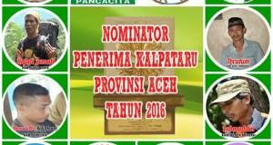 9 Putra Wilayah Tengah Aceh Dominasi Penerima Kalpataru 2016