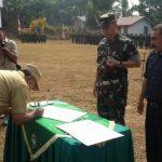 Bupati Aceh Tamiang Buka TMMD di Paya Meta