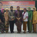 Peringati Hari Kartini, Persit KCK Cabang XXIV Yonif Gelar Sosialisasi Peranan Wanita