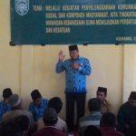 Pergunakan Dana Desa, Rusli M Saleh : Program Harus Menyentuh Kalangan Perempuan!