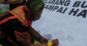 Masyarakat Pining Tolak Aktivitas Tambang di Hutan Leuser