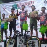 Atlet Balap Sepeda Gayo Syahrial Iman Podium 2 di Indonesian Enduro Series 1