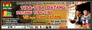 Sambut Ramadhan : DO Gelar Acara Tiba-Tiba Datang, Datang Tiba-Tiba, Tu…Dah Datang!
