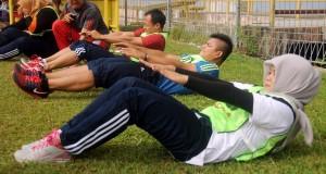 Atlet Pelatda PON 2016 Ikuti Tes Fisik Tahap Pertama