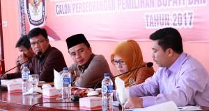 KIP Aceh Tengah Sosialisasikan Mekanisme Pencalonan Paslon Perseorangan